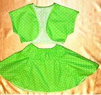 Летний костюм для девочки, 5-6 лет, Киев. Подарок для девочки
