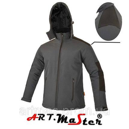 Водонепроницаемая куртка ARTMAS черного цвета CLASSIC+PIK- kurtka , фото 2