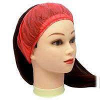 Пов'язка для волосся одноразова (спанбонд) Doily, 10 шт.