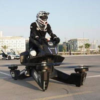 Полиция Дубая пересаживается на летающие мотоциклы