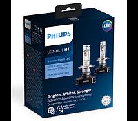 Автолампы PHILIPS LED H4 Premium +200% more vision 12V, 23W, P43t-38