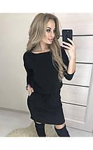 Бордовое платье, фото 3