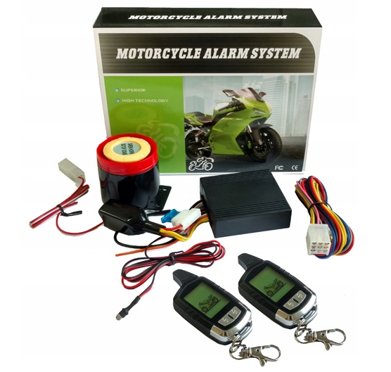 Мото сигнализация RTX LCD AM10