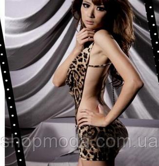 Секси-платье леопардовое, фото 2