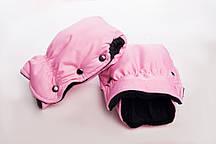 Муфта-рукавицы на коляску DECOZA.MOMS оксфорд Розовый (DM-MO-3)