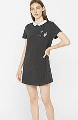 Молодежное платье с нашивками от MANGO  DR1846216
