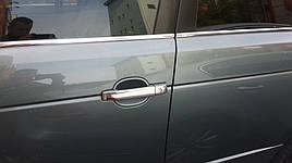 Накладки на ручки (4 шт, нерж) - Range Rover Sport 2005-2013 гг.