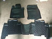Резиновые коврики (5 шт, Novline) - Lexus GX460