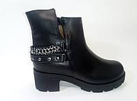 Женские кожаные зимние ботинки  ТМ Камея, фото 1