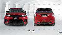 Тюнинг комплект обвеса для 2016 (SVR) - Range Rover Sport 2014+ гг.