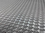 Профилактика листовая КОСИЧКА зашкуренная  Украина 500х630х3 мм цвет чёрный, фото 2