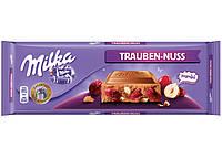 Молочный шоколад Milka с изюмом и фундуком 300 гр