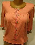 Женская кофточка -распашонка 44 р., фото 3