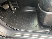 Резиновые коврики (4 шт, Novline) - Lexus LS600H