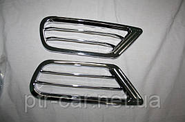 Накладки на задние воздуховоды (2 шт, пласт) - Lexus LX470