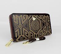Кошелек лаковый с вышивкой Dolce&Gabbana (копия) 60103 темно-марсаловый, расцветки, фото 1