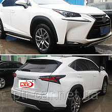 Передняя и задняя накладки (2 шт) - Lexus NX