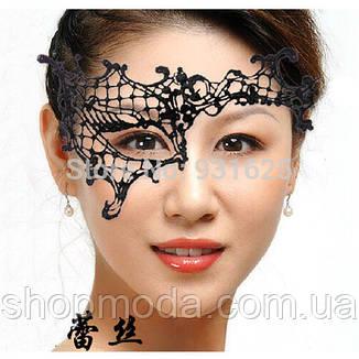 Кружевная маска на один глаз, фото 2
