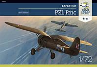PZL P.11c 1/72 Arma Hobby 70015, фото 1