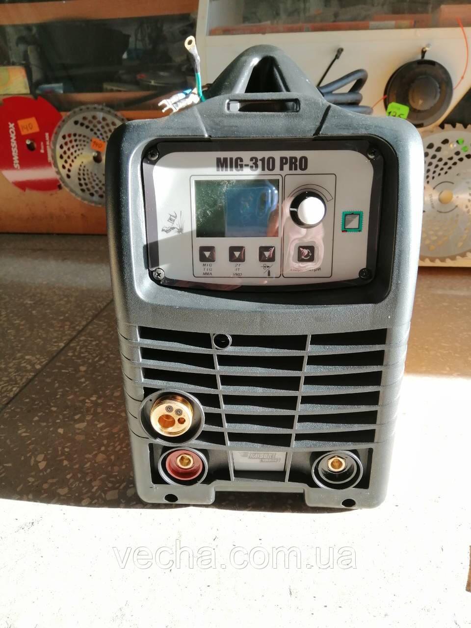 Сварочный полуавтомат Kaiser MIG-310 PRO (дисплей, форсаж дуги, функция VDR)