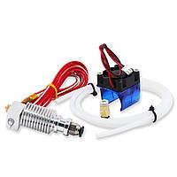 0.4 мм J-head Hotend Extruder Дистанционный Набор Suppport 1.75mm PLA/ABS Филамента с охлаждающим вентилятором + вентилятором - 1TopShop