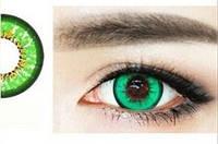 Цветные линзы для глаз, зеленые, фото 1