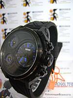 Мужские наручные часы Skmei 1359 электронно-кварцевые на силиконовом ремешке