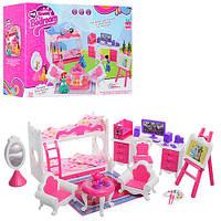 Мебель для куклы Спальный гарнитур