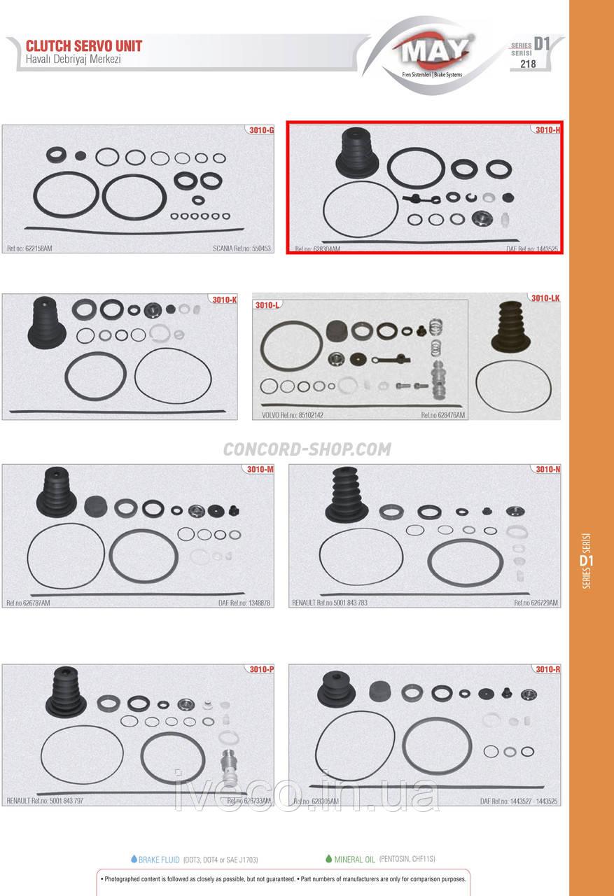 Комплект ремонтный ПГУ DAF 628304AM 626788AM 1349064 D=80 1443525