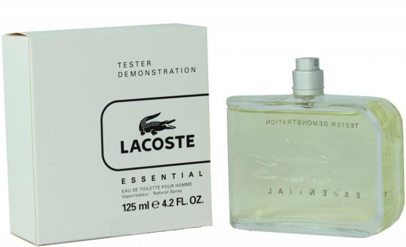Lacoste Essential туалетна вода 125 ml. (Тестер Лакост Необхідний)