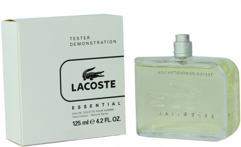 Lacoste Essential туалетная вода 125 ml. (Тестер Лакост Эссеншиал)