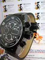 Мужские наручные часы skmei 1371 электронно-кварцевые на силиконовом ремешке