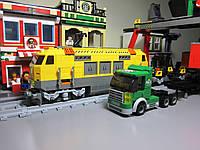 Конструктор Ausini 25004 Железная дорога Поезд погрузочная станция 792 деталь, фото 1