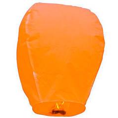 Китайский летающий фонарик оранжевый 110 см