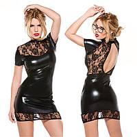 Интригующее черное платье
