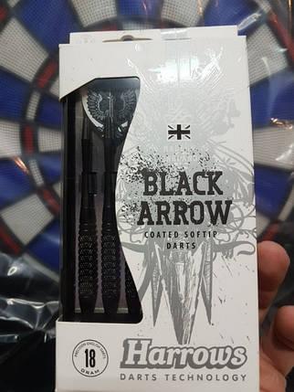 Дартс дротики Harrows BLACK ARROW NEW 18gr, фото 2