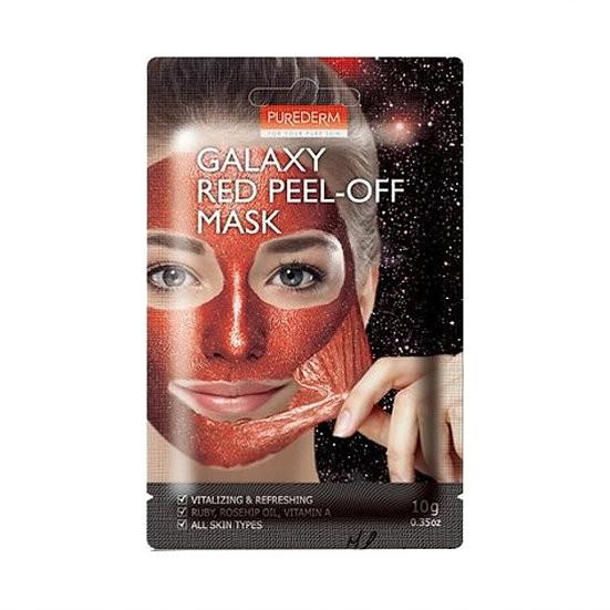 Очищающая маска-пленка Purederm Galaxy Red Peel-off Mask