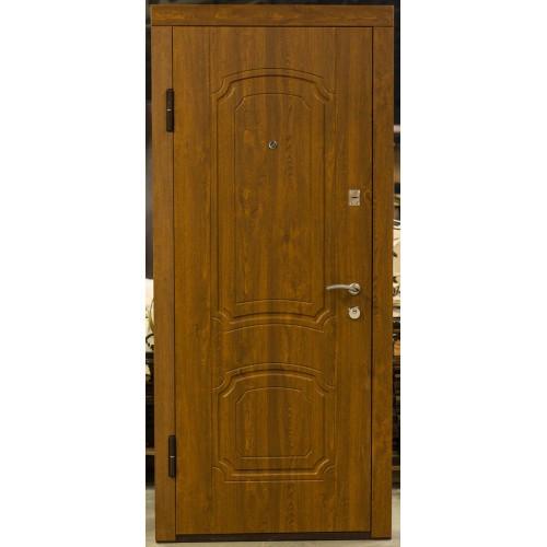 Дверь Уют  Гранит мет/мдф золотой дуб 960 (2 мм)