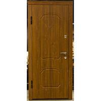 Дверь Уют Гранит золотой дуб мет/мдф 860 (2 мм)