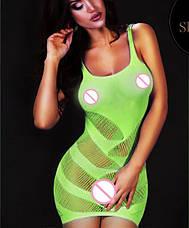 Платье сеточка узором. Разные цвета, фото 2