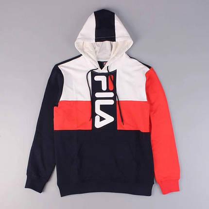 Толстовка Fila Black Red White  продажа 616d9e072cd3c