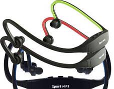Наушники спорт MP3 плеер с радио и со слотом для карты памяти до 8 г MP3 Sport (TF+FM), фото 2