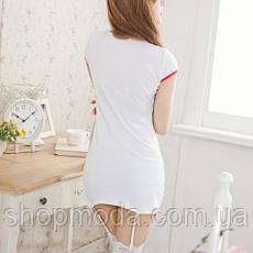 Эротический халатик медсестры с подвязками, фото 2
