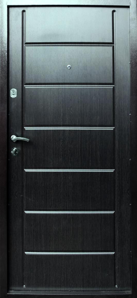 Дверь Уют Гранит  мет/мдф венге 860 (2 мм)