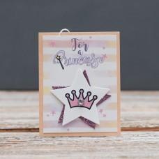 Открытка мини For princess Корона для принцессы