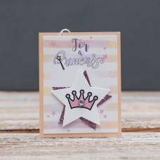 Открытка мини For princess Корона для принцессы, фото 2