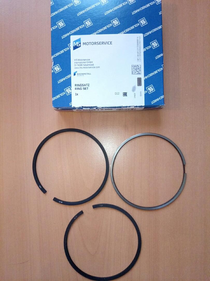 Комплект поршневих кілець (2.5-2-2.5) 2.8 TD STD IVECO 800049910000