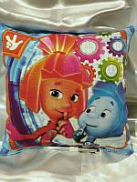 Подушечка для детского творчества, рисование светом, подушка рисовашка 30*30см