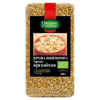Крупа пшеничная Артек из пшеницы твердых сортов, 400г, ORGANIC COUNTRY