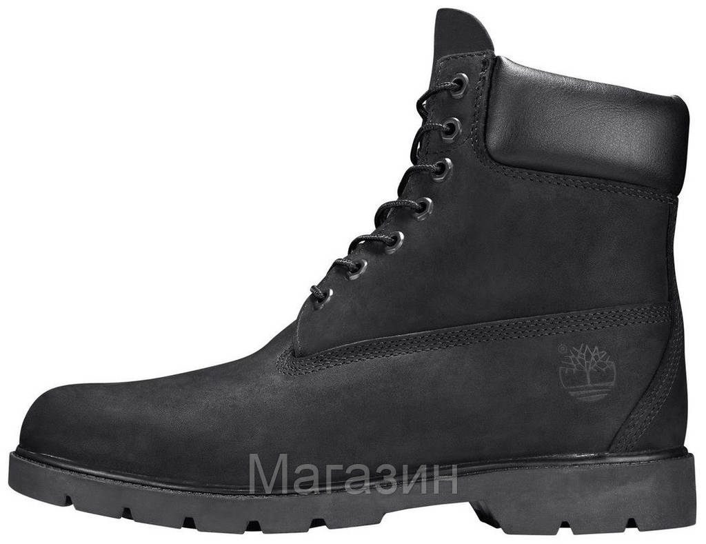 Женские зимние ботинки Timberland Classic 6 inch Winter Black зимние Тимберленд С МЕХОМ черные